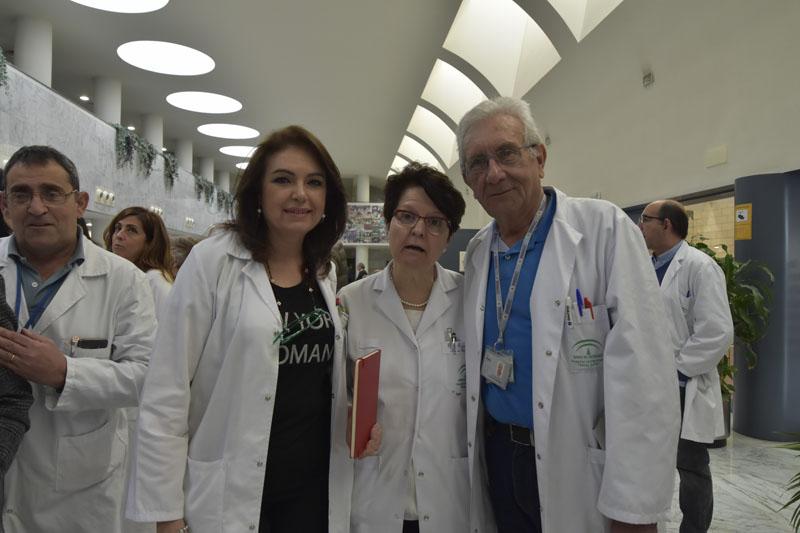Mariano Ledesma, Pilar Pedraza, María José Requena y Pedro Aljama