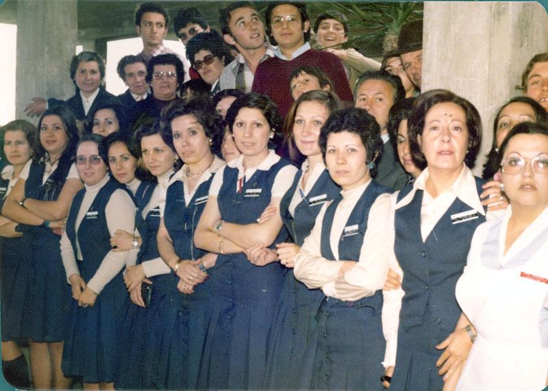 Administrativas Librada, Rafi López. 1976