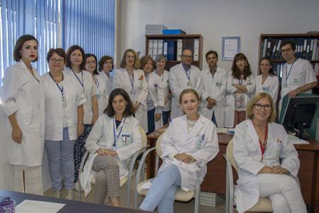 Equipo que presta servicio en el Centro de Especialidades Carlos Castilla del Pino