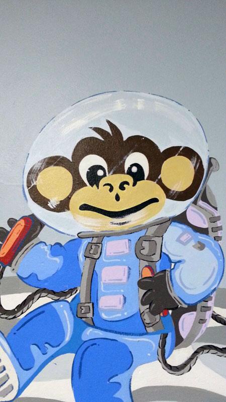 El mono Lolo ya ha llegado hasta el espacio exterior