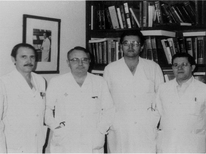 Comité organizador de las jornadas hispano francesas de pediatría. 1978