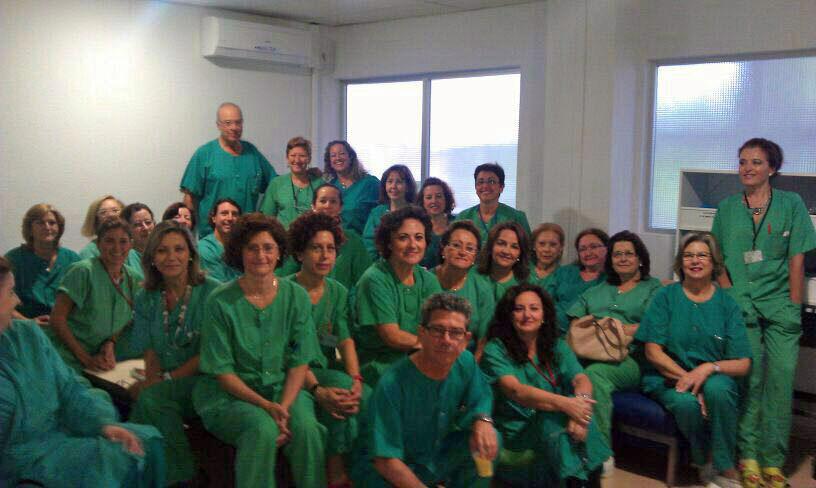 Despedida del anestesista Miguel Osuna. 2014