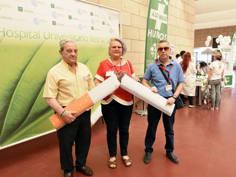 Las asociaciones de pacientes también participan en la celebración de este día
