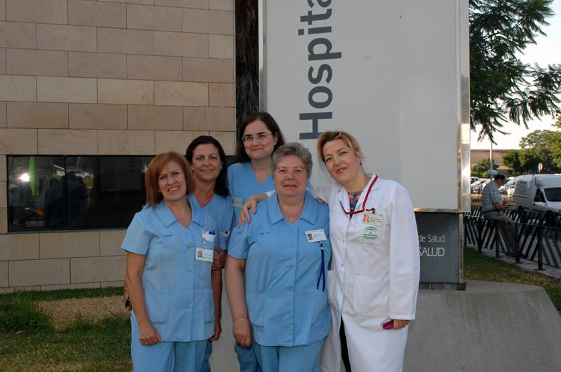 Enfermeras de enlace del hospital. 2015