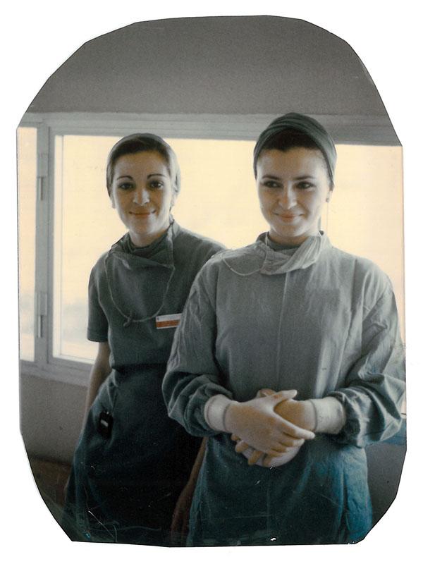 Enfermeras de quirófano. 1986