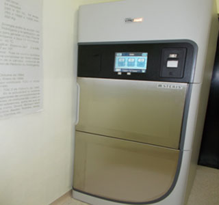 "Peróxido de hidrogeno: Esterilizador ""VPRO MAX 8"""