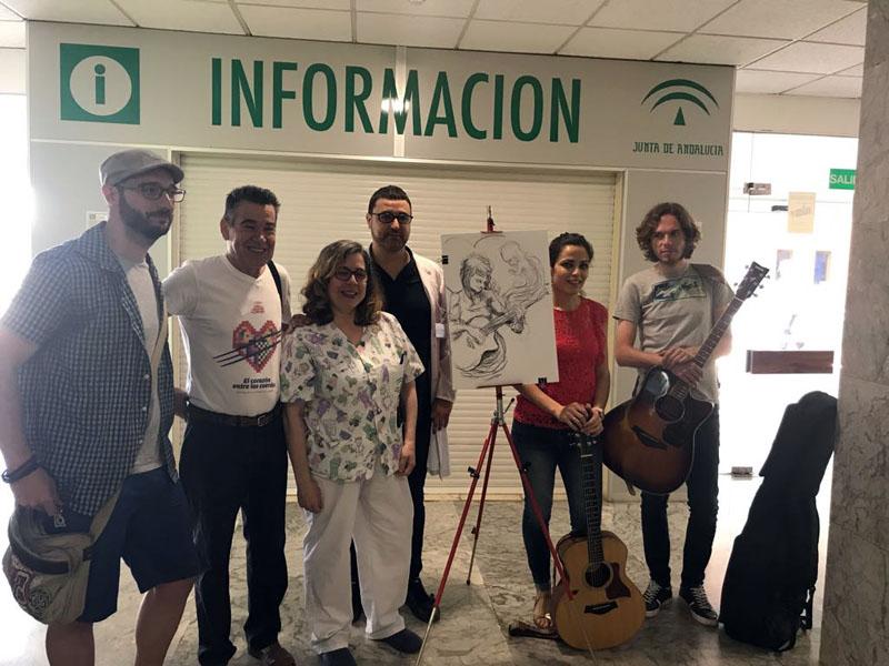 Concluye el concierto en el Hospital Materno Infantil