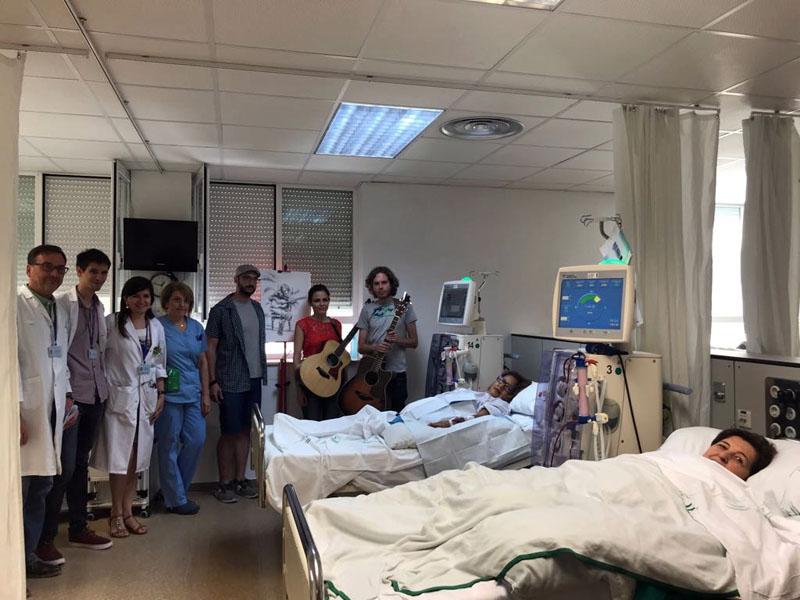 Los pacientes en diálisis agradecen la actuación