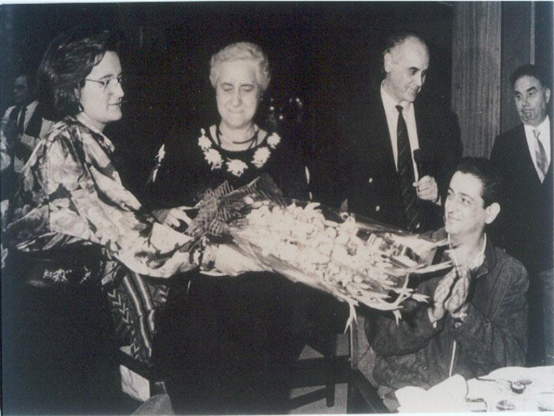 Homenaje a Carmeli García. 1989