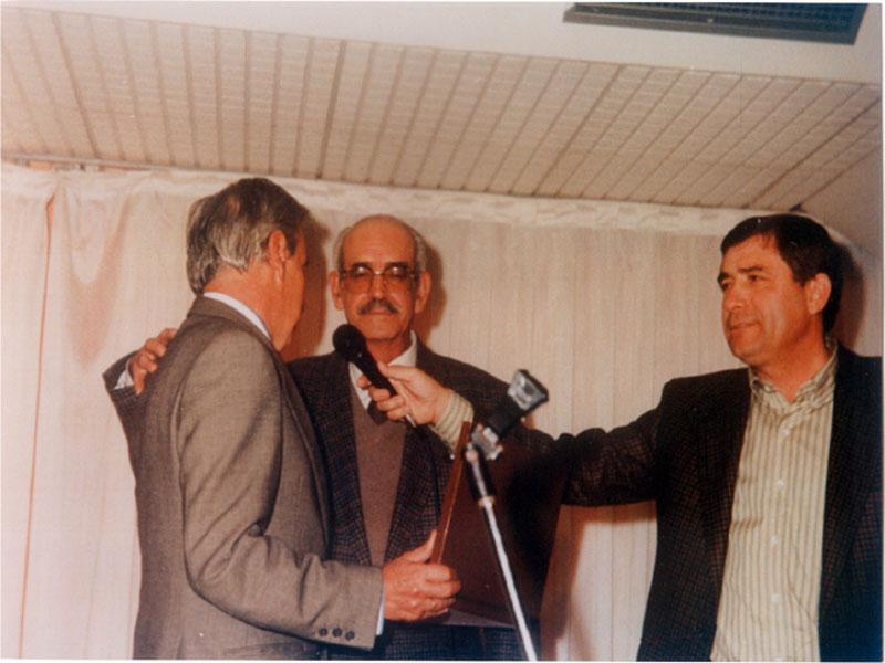Jubilación del celador Pedro Jiménez. 1991