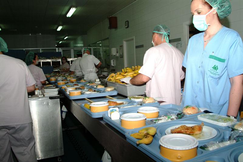 La actual cocina del hospital. 2005