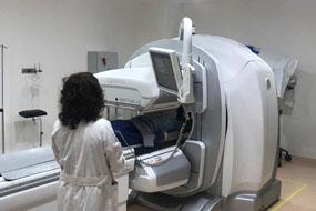 Imagen de archivo de una prueba en Medicina Nuclear