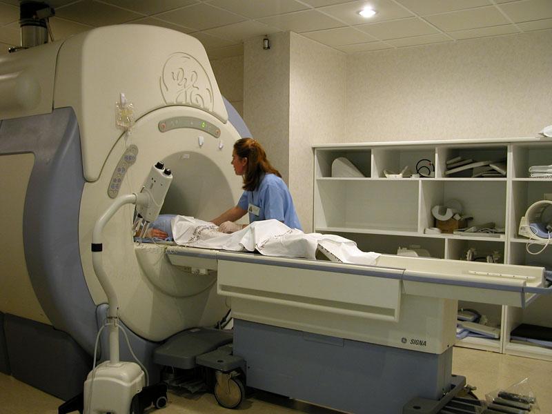 Nueva resonancia magnética. 2005