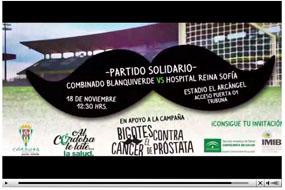 Partido de fútbol solidario Movember
