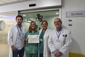 Los doctores Murcia, Ibarra, Paredes y Vázquez
