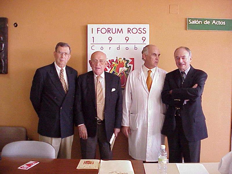 Recuerdo del I Forum ROSS celebrado en Córdoba. 1999