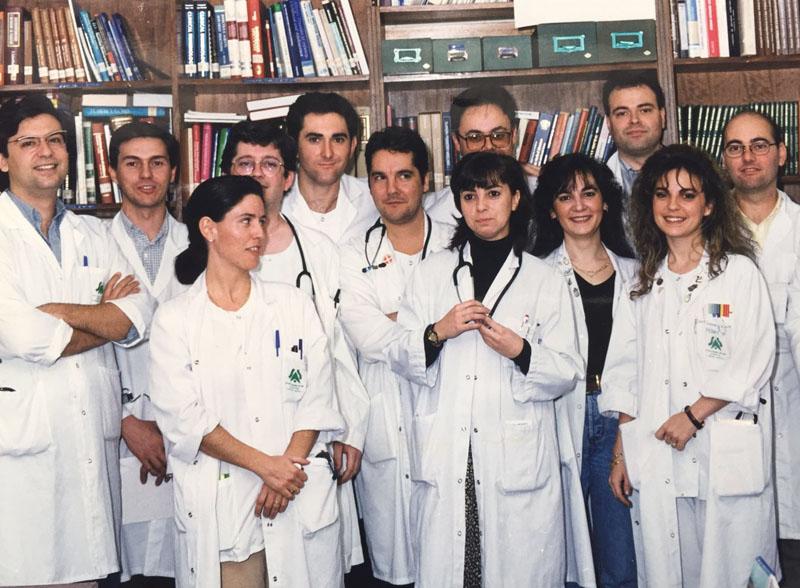 Residentes de Pediatría. 1997