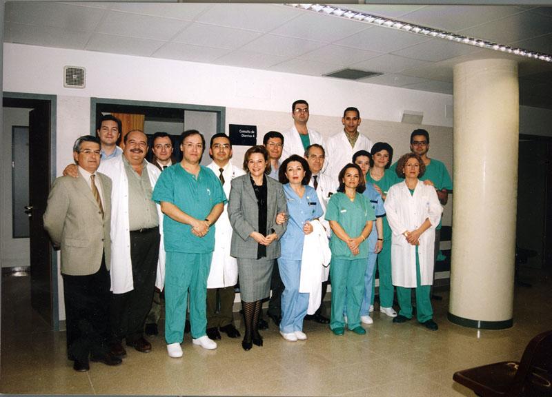 Servicio de otorrino. 2002