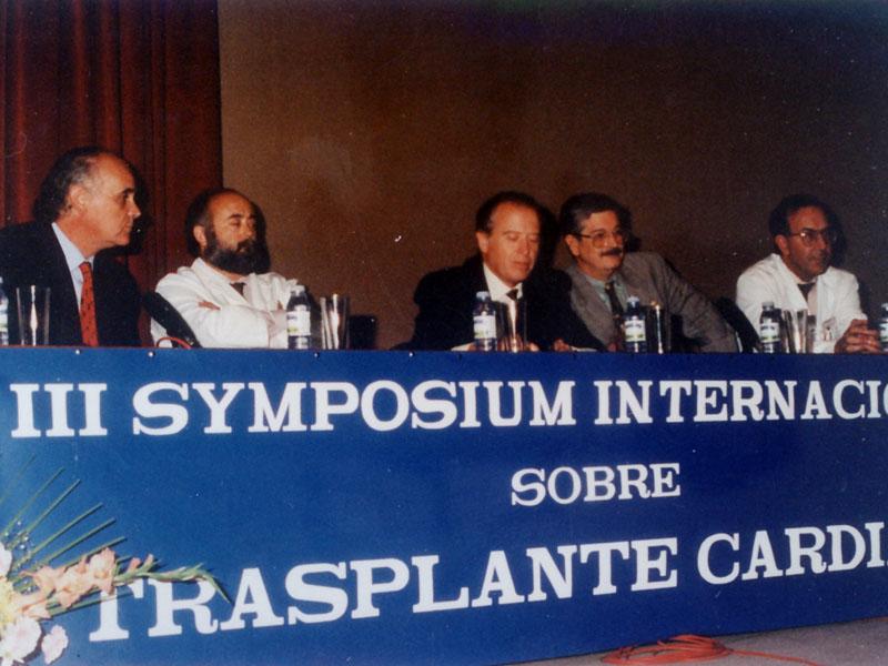 Simposio Internacional sobre Trasplante Cardíaco. 1994