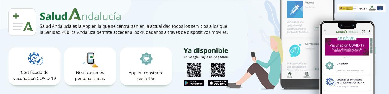App Salud Andalucía Banner