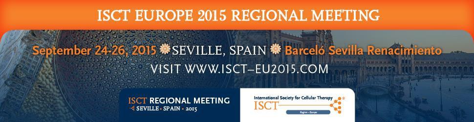 ISCT Europe 2015 Seville